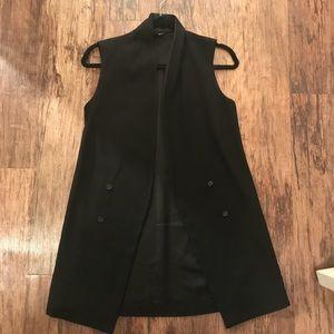 TopShop Long Blazer Vest